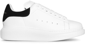 Alexander McQueen White and black classic sneakers