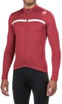 Castelli Costante Cycling Jersey - Full Zip, Merino Wool, Long Sleeve (For Men)