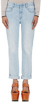 Stella McCartney Women's Embroidered Skinny Boyfriend Jeans-LIGHT BLUE