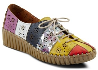Spring Step Guppy Wedge Oxford