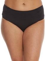 Tommy Bahama Plus Size Side Shirred High Waist Bikini Bottom 8156078