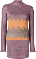 Missoni lurex knitted dress
