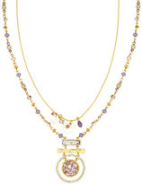 lonna & lilly Crystal Goldtone Pendant Necklace