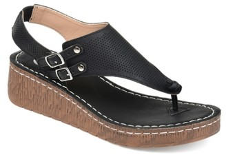 Journee Collection Mckell Wedge Sandal