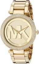 Michael Kors Parker MK5784 Women's Wrist Watches, Gold Dial