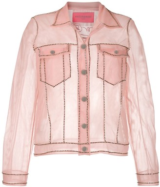 Viktor & Rolf transparent denim jacket