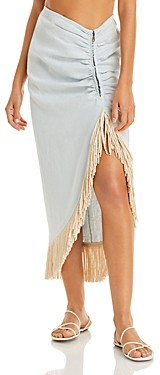 Just BEE Queen Mallorca Fringed Skirt