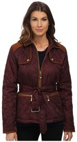 Vince Camuto Belted Quilted Jacket J8021 Women's Coat