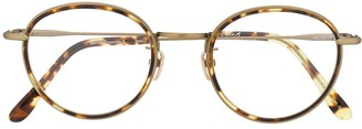 EQUE.M Merry Peanuts II round frame glasses
