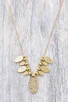Gorjana Beaded Fan Necklace