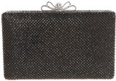 Fawziya Bow Clasp Diamond Flap Wedding Clutch Handbag Ladies Party Bag