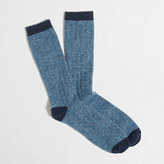 J.Crew Factory Tipped Donegal wool socks