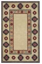 Rizzy Home Southwest Border 9-Foot x 12-Foot Area Rug in Tan