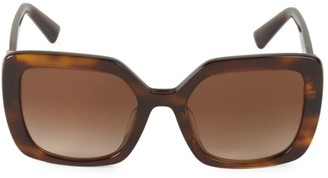 Valentino 53MM Square Sunglasses