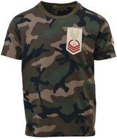 Valentino Cotton Camouflage