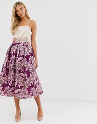 Closet London Closet full a line midi skirt