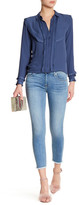7 For All Mankind Gwenevere Skinny Raw Hem Ankle Jean