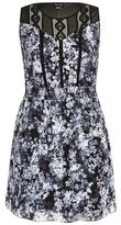 Evans City Chic Black and White Floral Tunic Dress