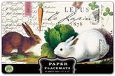 Michel Design Works Bunnies Paper Placemats