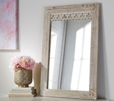 Pottery Barn Kids Antique Wood Rectangle Mirror