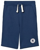 Converse Navy French Terry Sweat Shorts