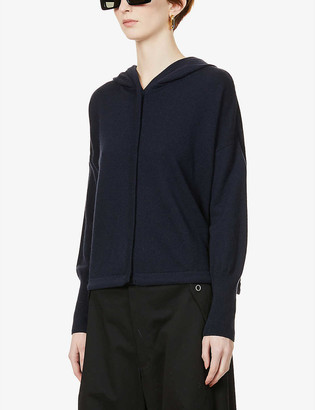 Me And Em Icon relaxed-fit cashmere hoody