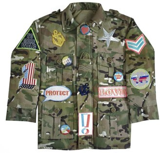 Dandy Star - Custom Up Camou Jacket 4 X Patches - 3/4