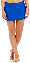 Alex Marie Solid Banded Skirt