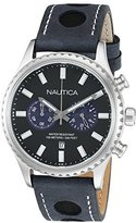 Nautica Men's NAD18512G NMS 02 Analog Display Quartz Blue Watch