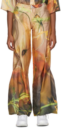 Collina Strada Yellow Draped Trousers