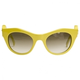 Givenchy Yellow Sunglasses