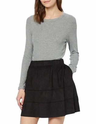 Name It NOISY MAY Women's Nmlauren Faux Suede Skirt Noos