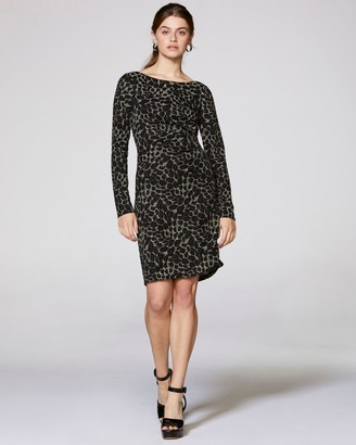 Vince Camuto Embellished Jersey Sheath