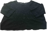 Masscob Black Cotton Top for Women