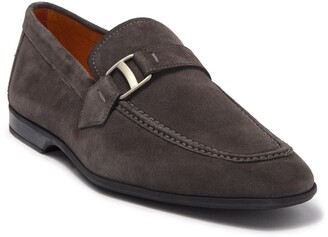 Magnanni Tonic Suede Buckle Loafer
