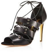 Rupert Sanderson Luscon Lace Up High Heel Sandals