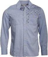 Converse Mens Minden Star Print Utility Long Sleeve Shirt Surf The Web