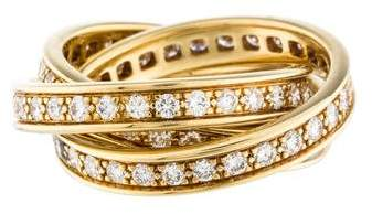 Cartier Diamond Rolling Ring