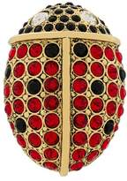 Sonia Rykiel rhinestone ladybird pin