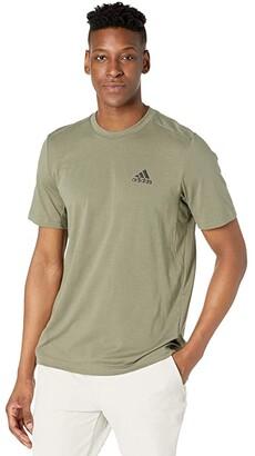 adidas Freelift Tee (White/Black 2) Men's Clothing