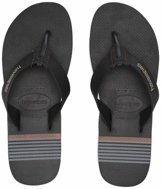 Havaianas Men's Urban Craft Flip Flop Sandal Black 8 M US