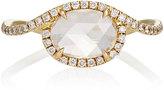 Monique Pean Mineraux Women's White Diamond & Yellow Gold Ring