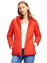 Old Navy Quilted Hooded Jacket for Women