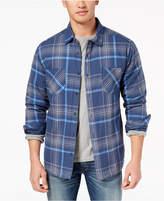 Quiksilver Men's Flannel Quilt-Lined Shirt