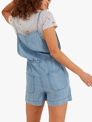 Fat Face FatFace Denim Shortie Strappy Dungarees