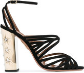Aquazzura 'Trinity' sandals - women - Leather/Suede - 37