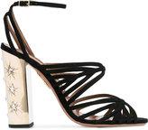 Aquazzura 'Trinity' sandals - women - Suede/Leather - 37