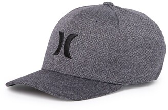 Hurley Icon Texture Baseball Cap