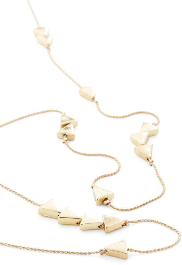 Thrice as Nice Necklace