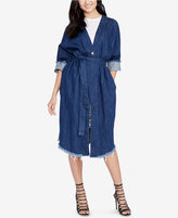 Rachel Roy Cotton Denim Coat, Created for Macy's